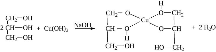Химические свойства глицерина