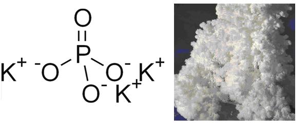 Формула фосфата калия