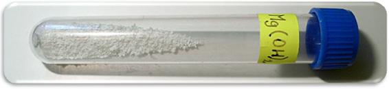 Гидроксид магния. Внешний вид и его формулы