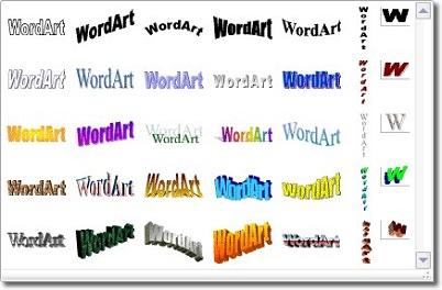 Как сделать презентацию в Word используя WordArt